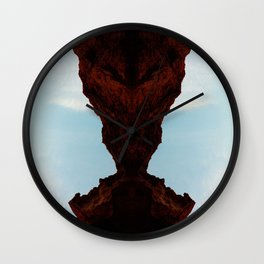 Praying Mantus Wall Clock