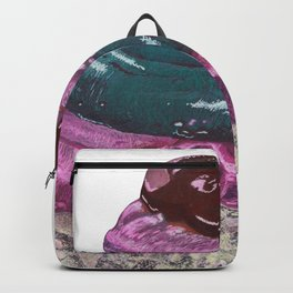 Pink and Blue Cupcake Backpack