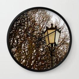 Lamppost Melodies  Wall Clock