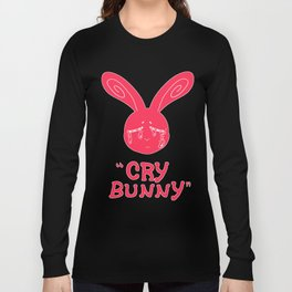 Cry Baby Cry Bunny Pink Long Sleeve T-shirt