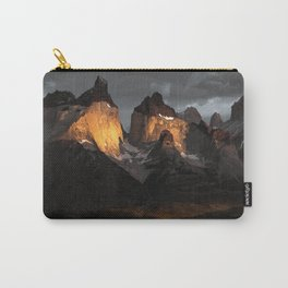 Patagonia mountains Carry-All Pouch