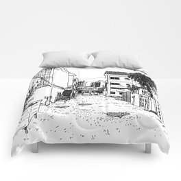Demolition Anxiety 01 Comforters