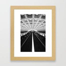 D.C. Metro Framed Art Print