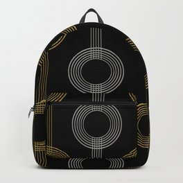 GUITAR IN ABSTRACT GS  (art deco) Backpack