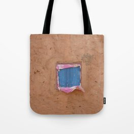 window in the mud Tote Bag