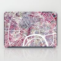 moscow iPad Cases featuring Moscow by MapMapMaps.Watercolors