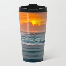 Ocean Sunset - Pacific Coast Highway 101 Travel Mug