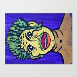 Asparagus Man Canvas Print