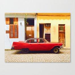 Havana in style Canvas Print