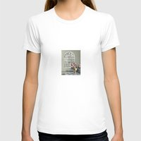 moroccan T-shirts featuring Moroccan Window by Linde Townsend