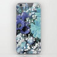 blues iPhone & iPod Skins featuring Blues by Joke Vermeer