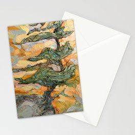 Dancing With Wind Stationery Cards