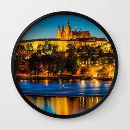 PRAGUE 002A Wall Clock