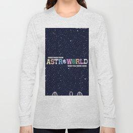 ASTROWORLD TRAVIS SCOT Long Sleeve T-shirt