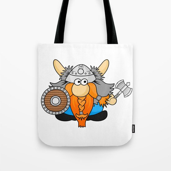 Little Viking  Tote Bag