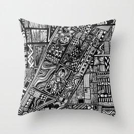 Home town Throw Pillow