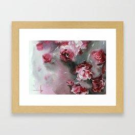 Flowers beauty Framed Art Print