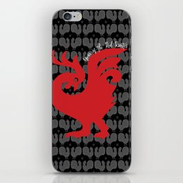 Year of the Red Rooster iPhone Skin