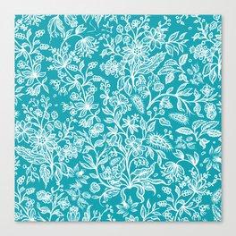 Decorative flowers 29 Canvas Print