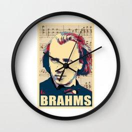 Johannes Brahms Wall Clock