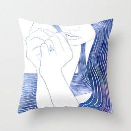 Nereid XXIX Throw Pillow