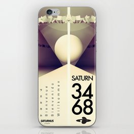 Saturn 3468 iPhone Skin