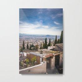 Granada - Spain - Panorama Metal Print