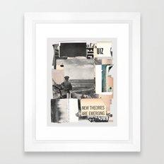 Remembering, even in sleep Framed Art Print