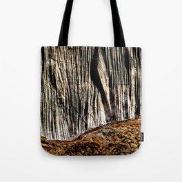 tree bark and wood Tote Bag