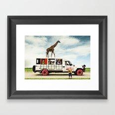 I Dreamed a Safari  Framed Art Print