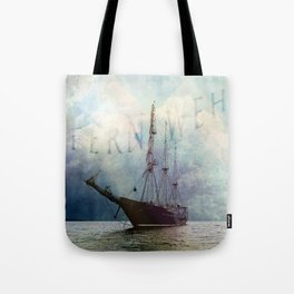 fernweh for distant lands [expedition to Galapagos] v2 Tote Bag