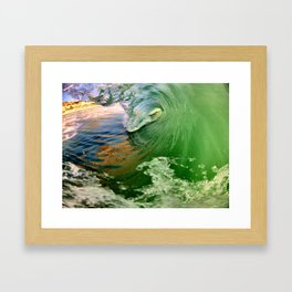 Boom Goes the Dynamite  Framed Art Print