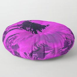 Purple Dreams Floor Pillow