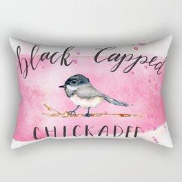 Sweet Chickadee Rectangular Pillow