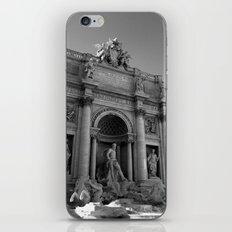 rome italy trevi fountain iPhone & iPod Skin