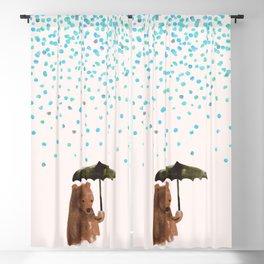 Rain rain go away Blackout Curtain