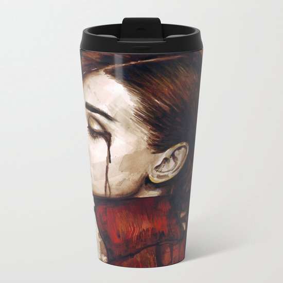 Audrey Hepburn Metal Travel Mug