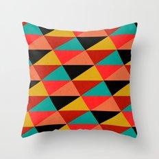 Ternion Series: Wintertide Jubilee Motif Throw Pillow