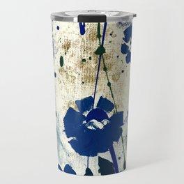 Dreaming In Blue 100f by Kathy Morton Stanion Travel Mug