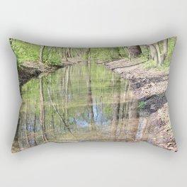 Der Fluss im Wald Rectangular Pillow
