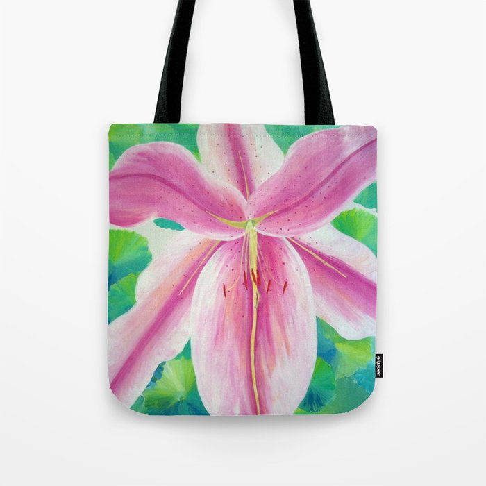 Jane's Lily Tote Bag