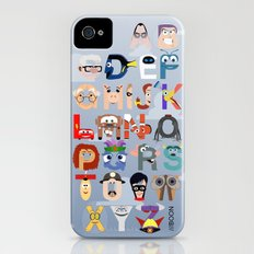 P is for Pixar (Pixar Alphabet) iPhone (4, 4s) Slim Case