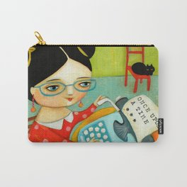 The writer of stories Carry-All Pouch