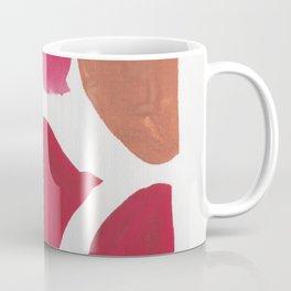 36   | 190408 Red Abstract Watercolour Coffee Mug