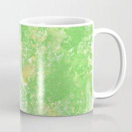 Yellow green spring Camo print Coffee Mug