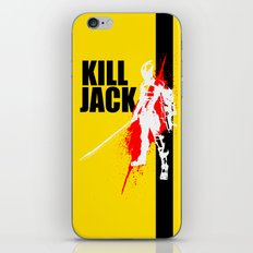 KILL JACK - ASSASSIN iPhone & iPod Skin