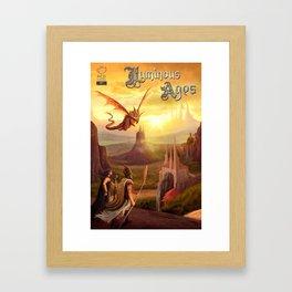 Luminous Ages Framed Art Print