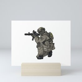 GSG9 Federal Police - Gift Ideas Mini Art Print
