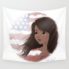 God Bless America 4 Wall Tapestry