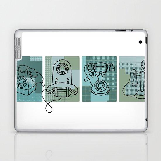 Phone Call Laptop & iPad Skin